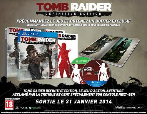 Tomb Raider Definitive Edition Precommande Square (500)